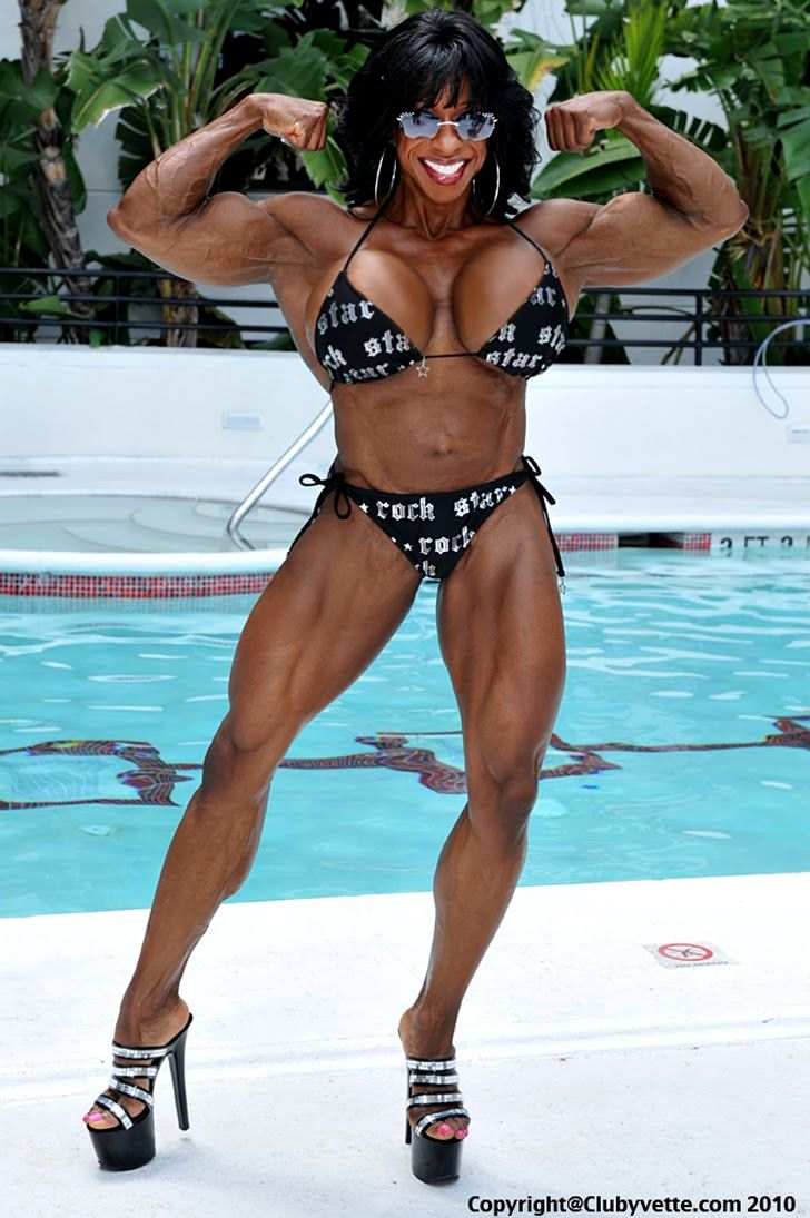 bodybuilders Yvette black women