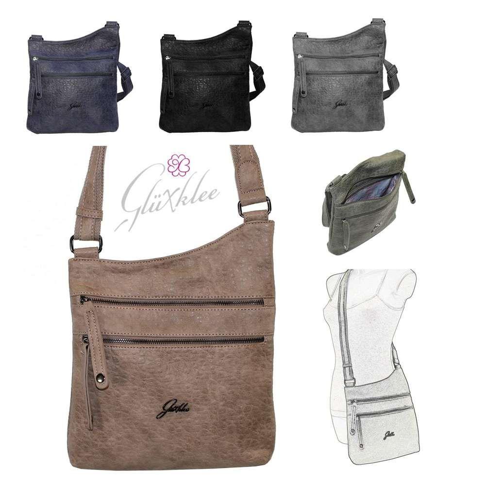 Glüxklee Crossbag Umhängetasche | Glüxklee Handtaschen &Co