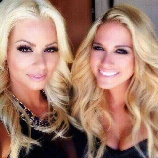 Maryse and Kelly Kelly