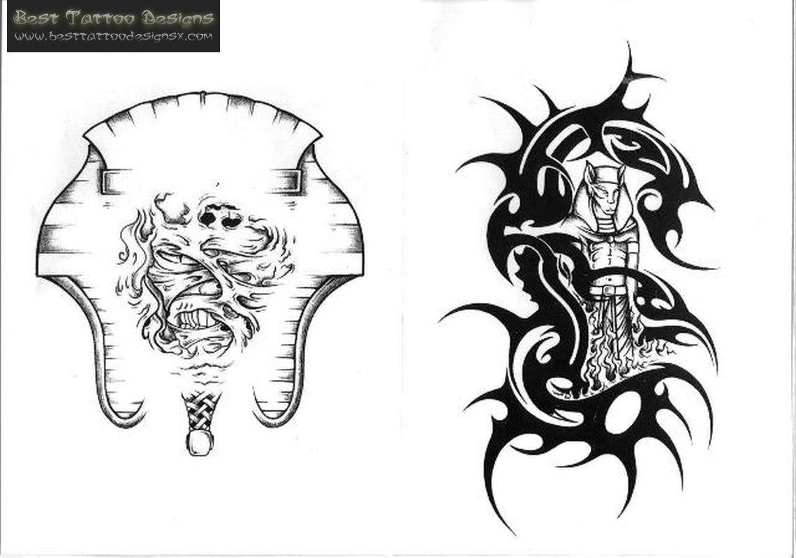 Egyptian Tribal Tattoos Designs Ideas Scorpion Tribal Tattoo Design Egyptian Tattoo Tribal Tattoo Designs Egyptian