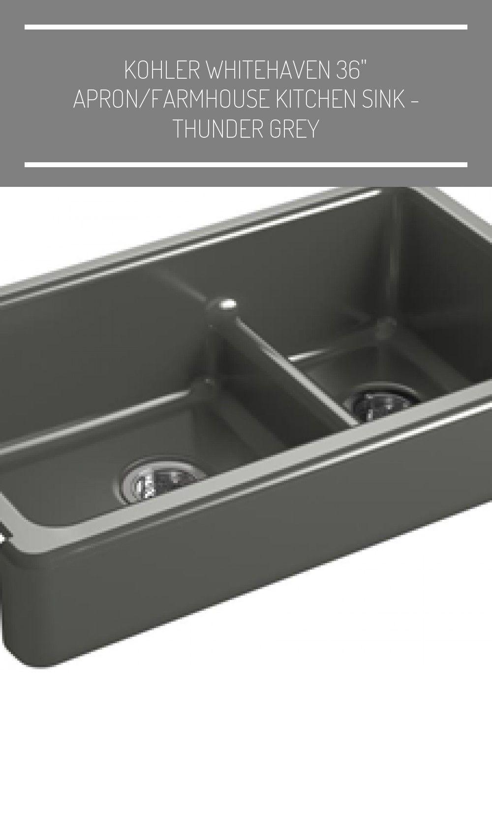 Kohler Whitehaven 36 2020 Farmhouse Sink Faucet Double Bowl