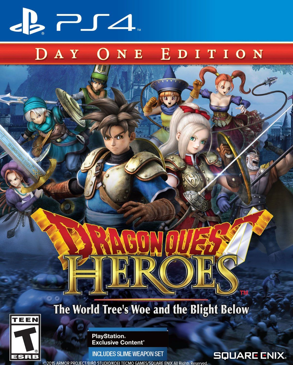 New Games Dragon Quest Heroes The World Tree S Woe And The Blight Below Ps4 Dragon Quest Heroes Reborn Hero