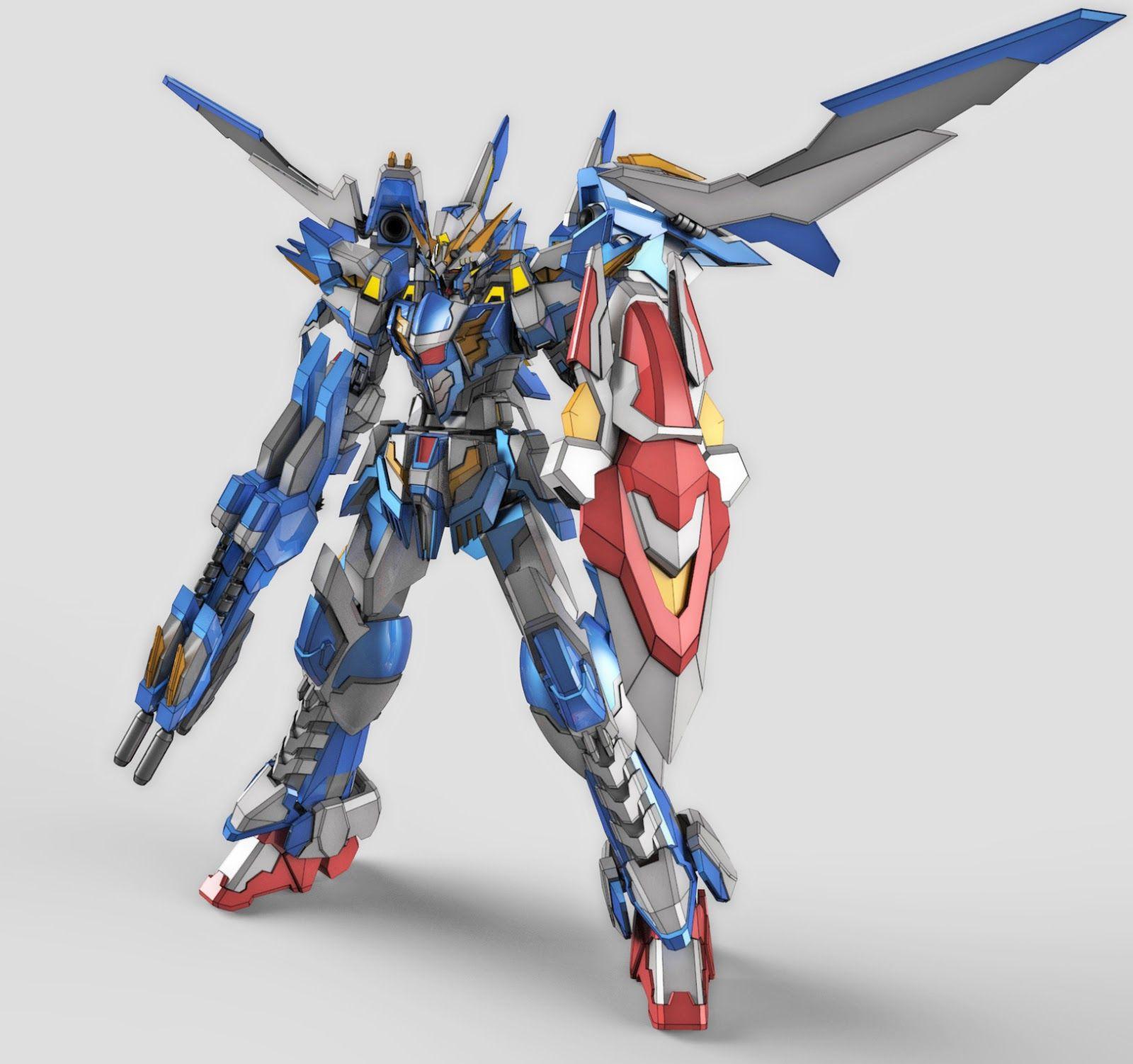 Awesome Gundam Digital Artworks [Updated 8/7/16] Gundam