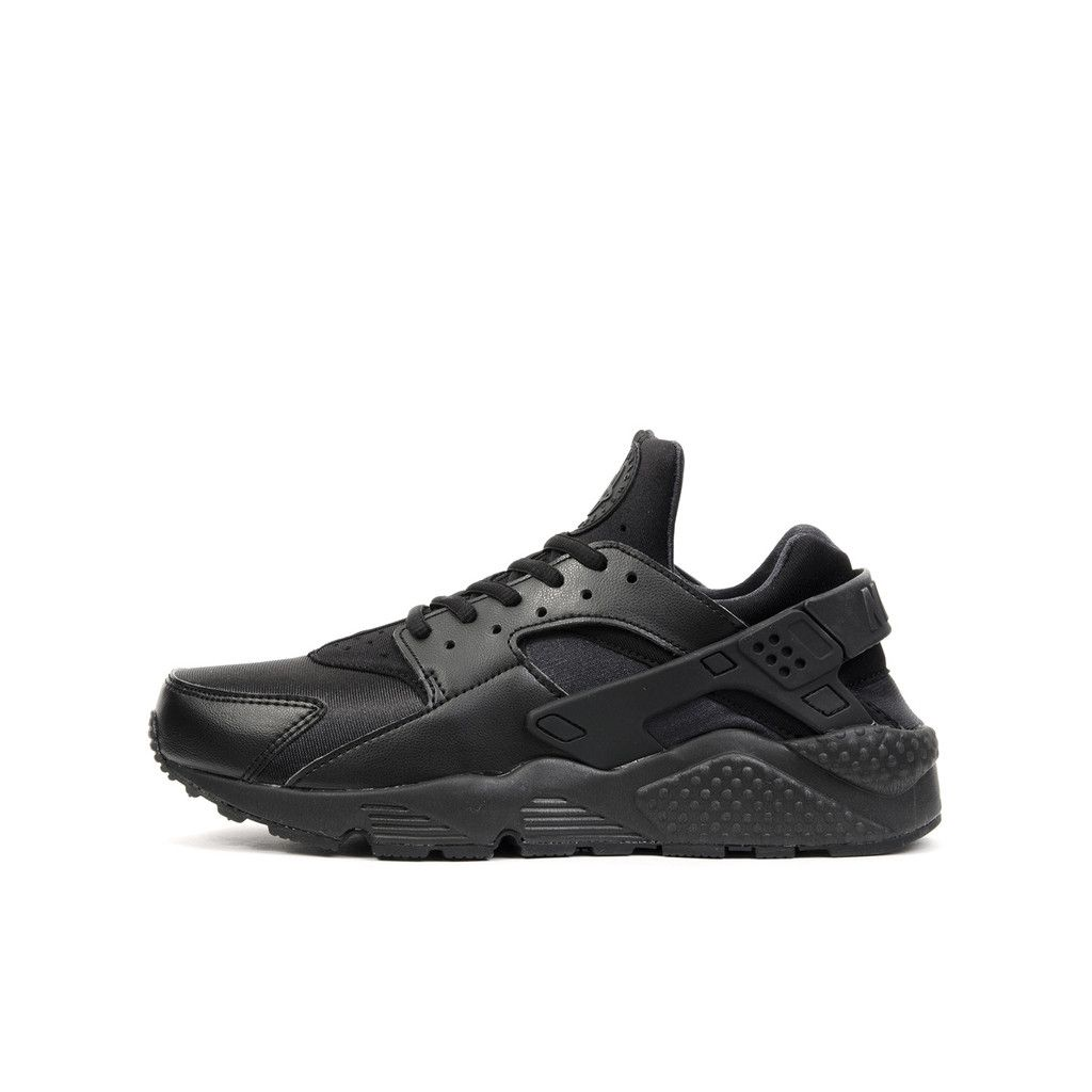 Nike Wmns Air Huarache Run Black/Black. Available at Concrete Store Prinsestraat the Hague | Concrete Store Amsterdam | WEB SHOP #dipyourfeetintotheconcrete #concrete #store #the #hague #amsterdam #footwear #men #women #unisex #Nike #Wmns #Air #Huarache #Run #Black #Black
