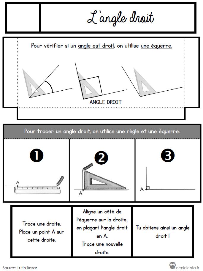 Ce1 Ce2 Mathématiques Leçons à Manipuler Géométrie
