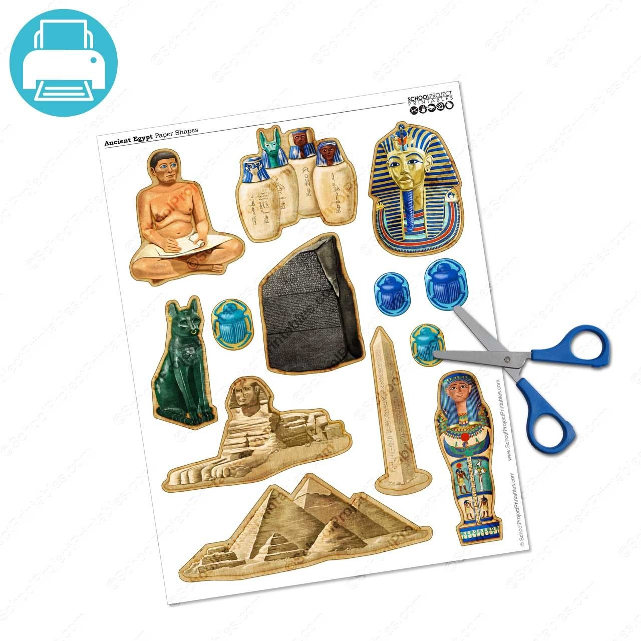 Ancient Egyptian Gods And Icons