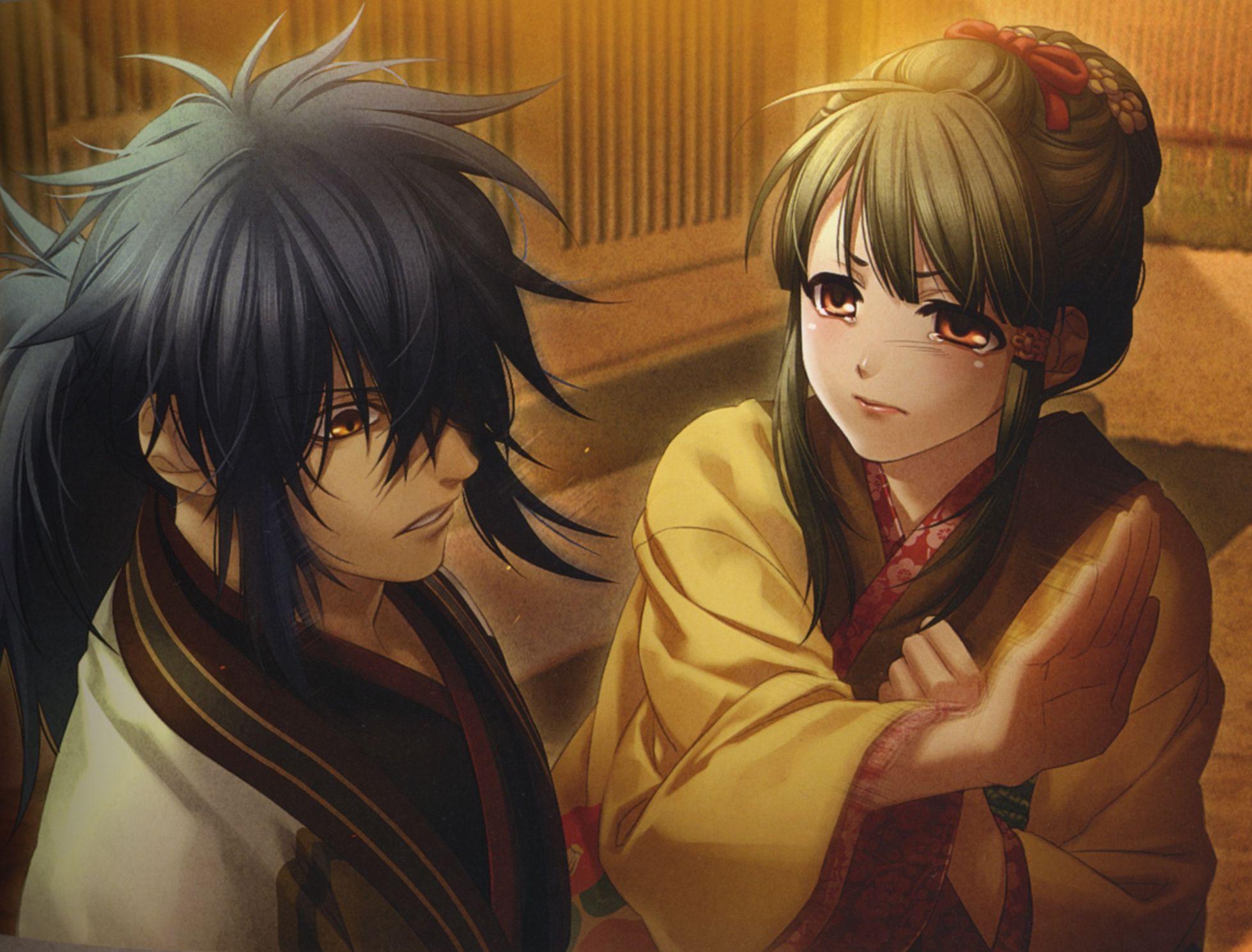 hakuouki shinsengumi kitan ibuki ryunosuke amp kosuzu