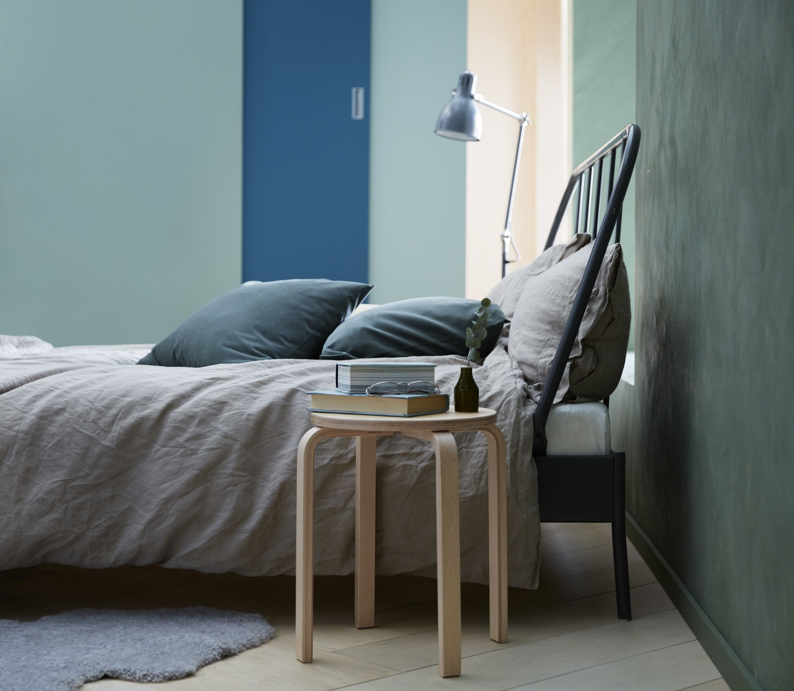 KOPARDAL Bedframe, grijs, Lönset | Slaapkamers | Pinterest ...