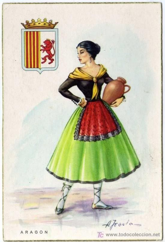 #Traditional #costumes of #Spain: #Aragon