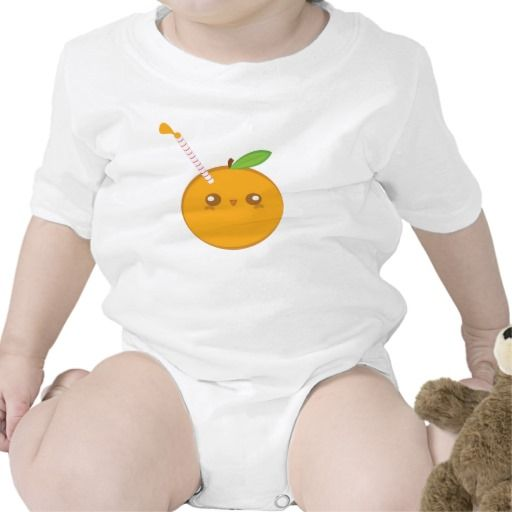 Lil Squirt Cute Baby Orange Infant Creeper Creepers