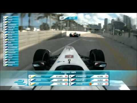 Formula E 2015 Miami Race | Great finish