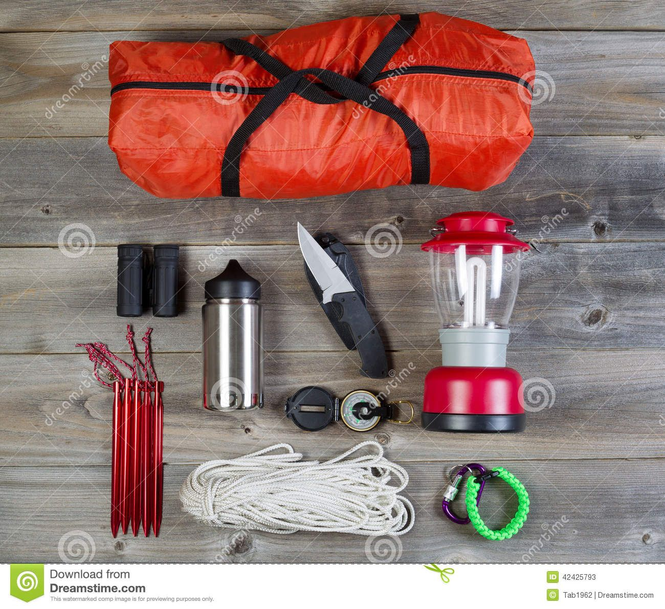 Check Out Basic Camping Equipment By Tigerpix Images On Creative Market
