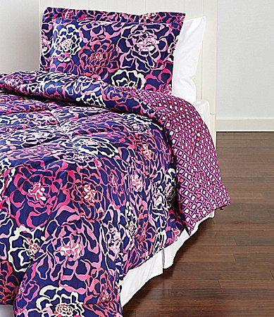 Vera Bradley Katalina Pink Comforter Set Dillards Home