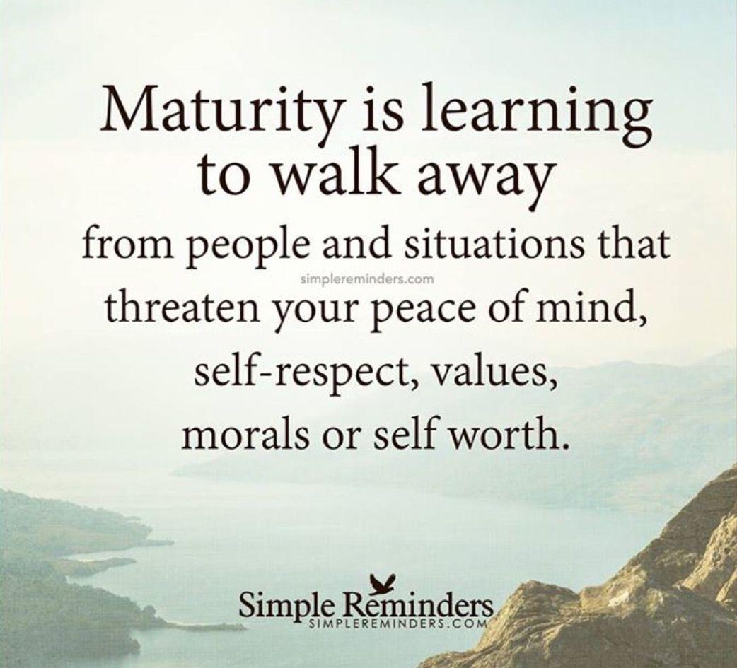Maturity Quotes Maturity matters!! | quotes | Inspirational Quotes, Quotes, Life  Maturity Quotes