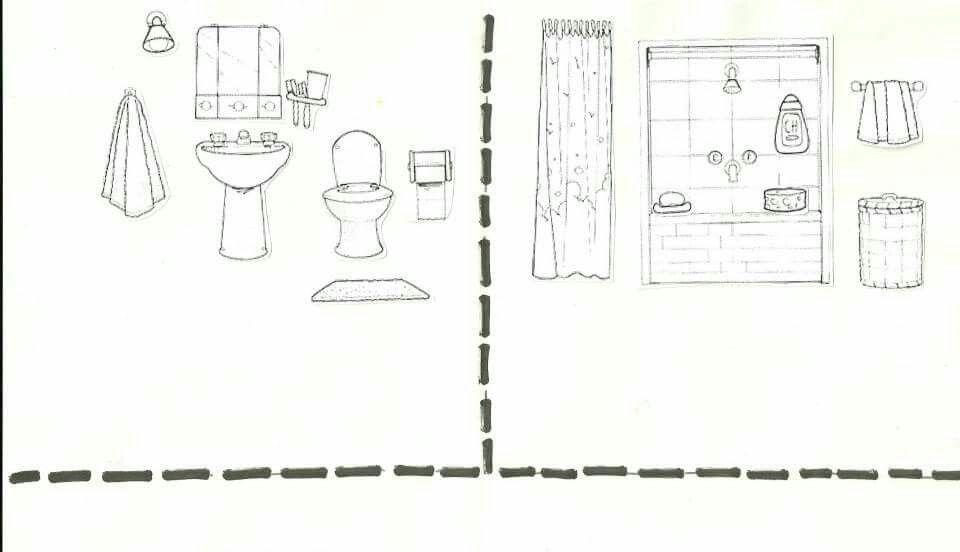 Evin Bolumleri Okuooncesi Pinterest Diagram Ve Floor Plans