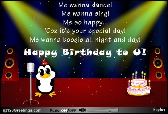 Another Birthday Wish From My Pete Singing Birthday Cards Birthday Songs Cool Birthday Cards