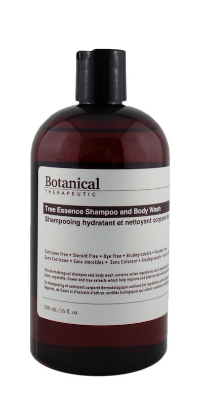 Botanical Therapeutic Tree Essence Shampoo & Body Wash is a daily moisturizing shampoo and bod