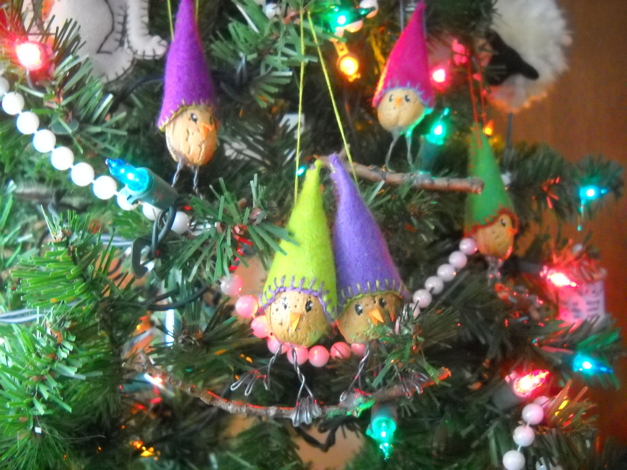 more color variations of Almond Joy ornament from bhg holiday crafts ...
