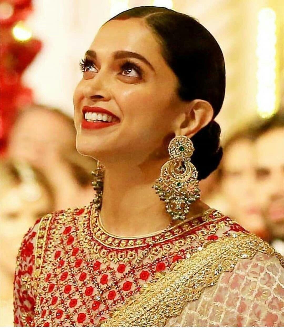 Pin by Jayakrithika on Krithika | Big earrings, Deepika padukone style, Deepika padukone