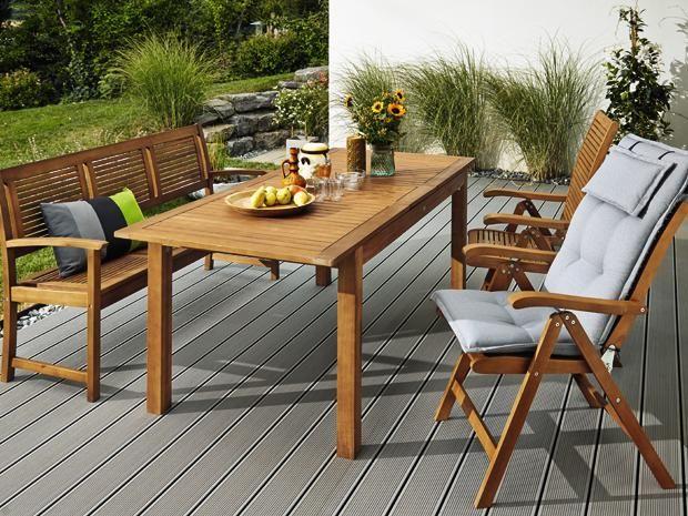 sunfun diana holzbank balkon terrasse pinterest terrasse balkon und ausziehtisch. Black Bedroom Furniture Sets. Home Design Ideas