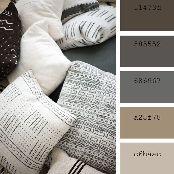 Paletas de colores neutros fibras naturales decoracion pinterest paletas de colores - Paleta de colores neutros ...