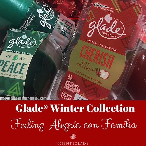 Glade® Winter Collection - Feeling Alegria con Familia #SienteGlade #ad