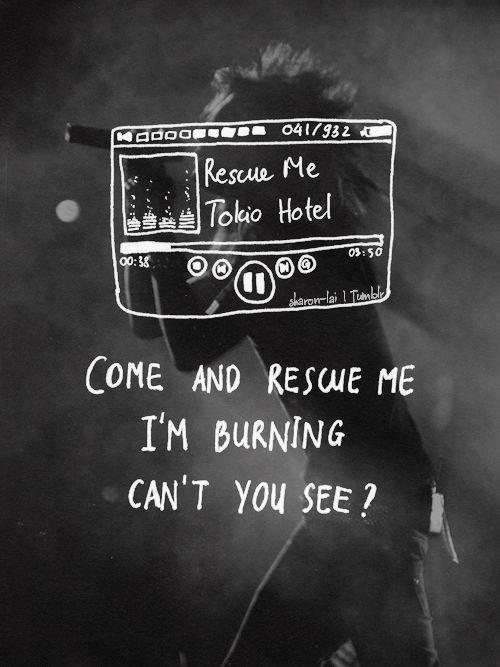 Rescue Me Tokio Hotelkatang En 2019 Letras De Canciones
