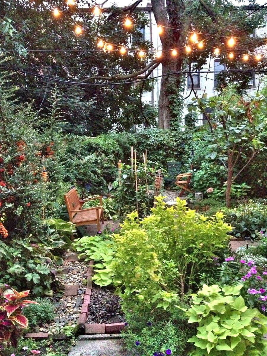 Alex's Cozy Garden Apartment in Brooklyn | Urban garden ...