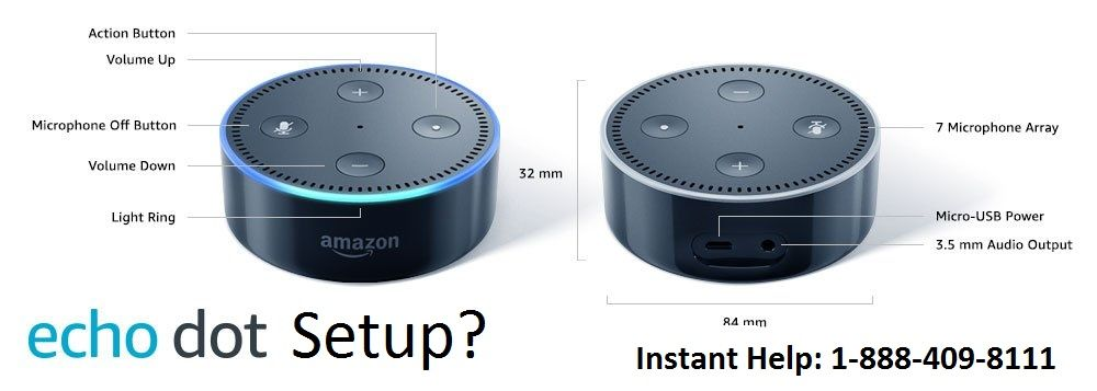 We have the professional team to help in Amazon Echo Dot