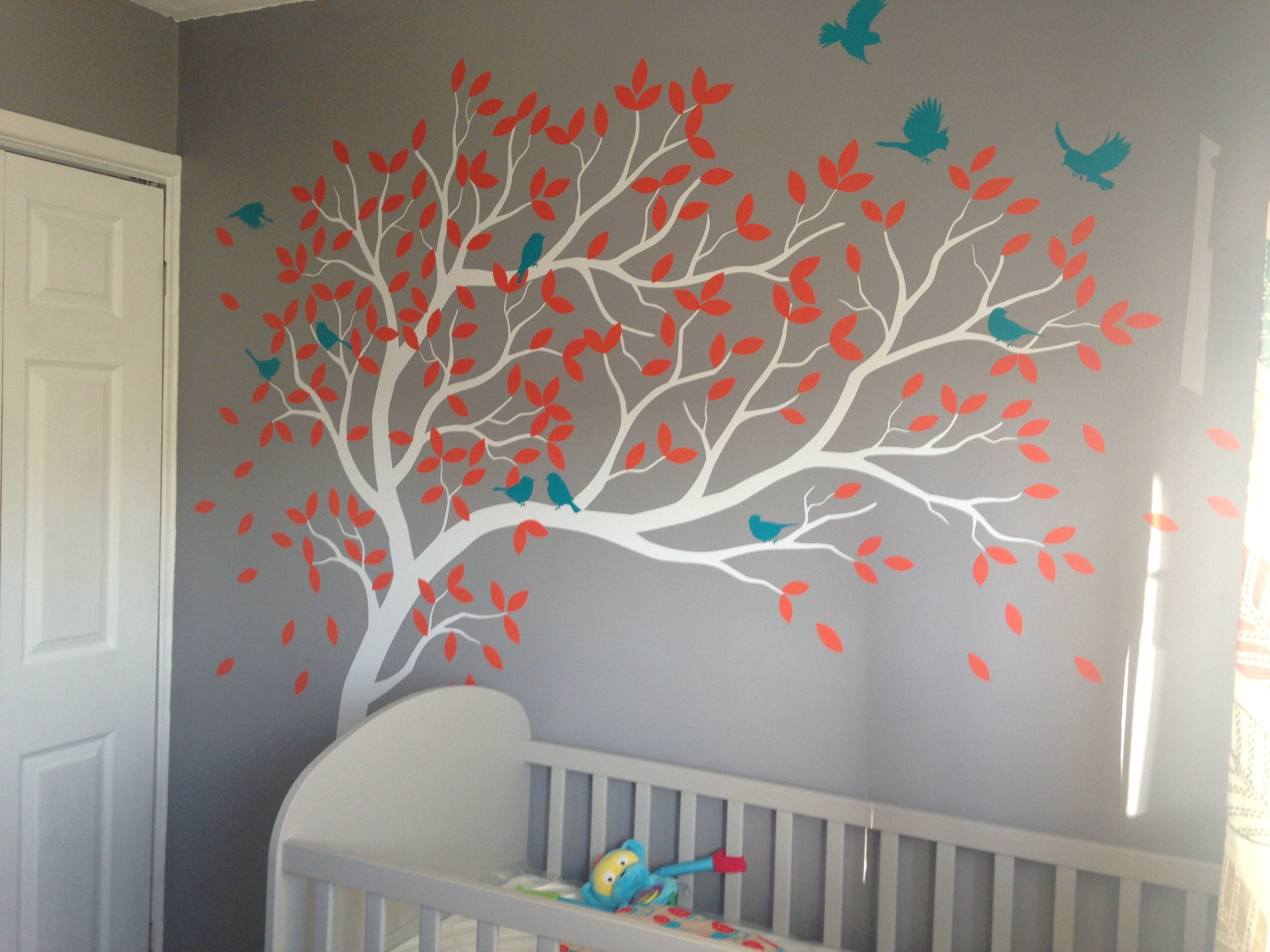 Katie Wall Designs on Easy nursery decal httpswwwetsycomuk