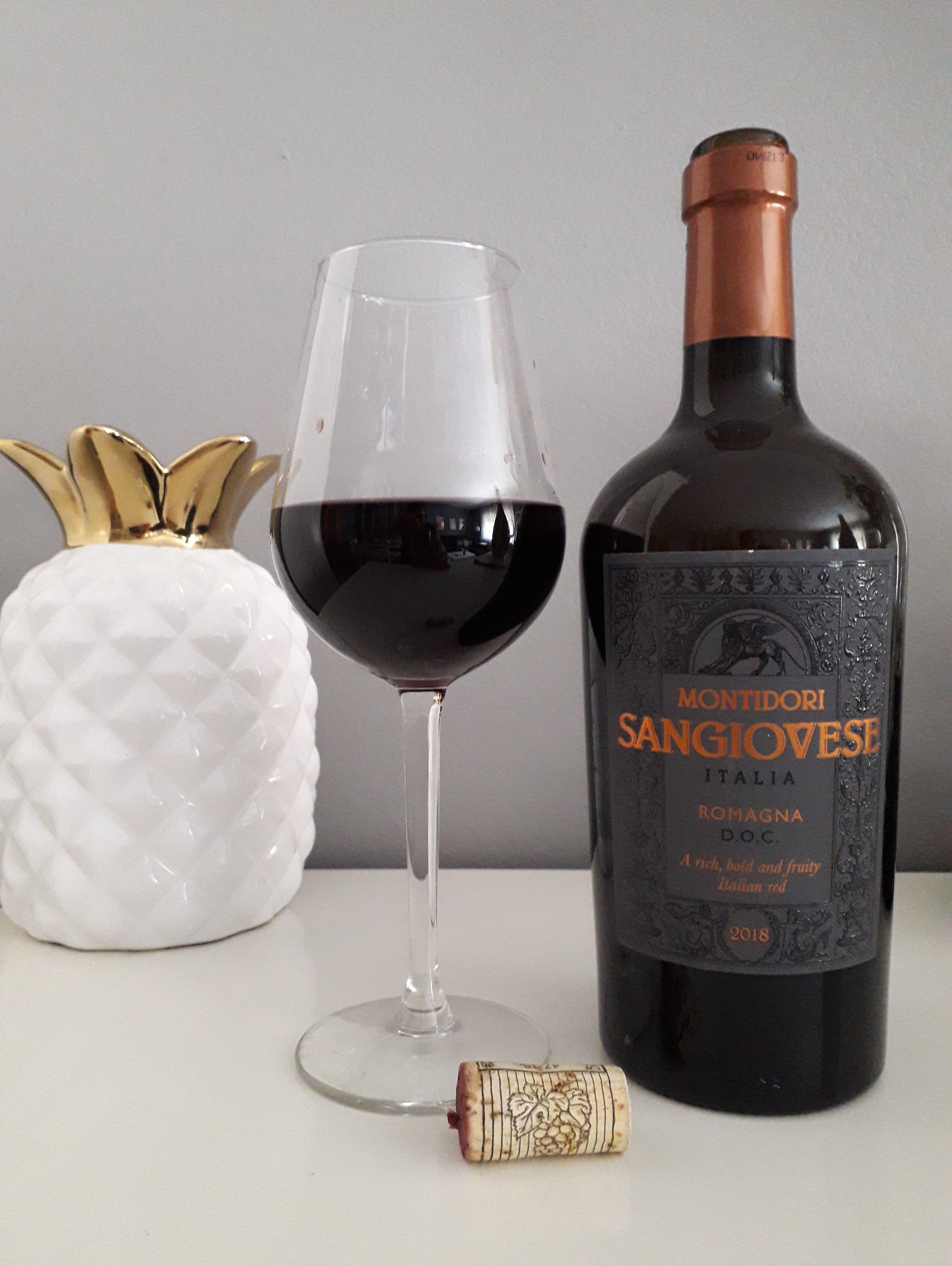 Montidori Sangiovese Crianza 2018 Vino Italiano Vinos Alcoholica