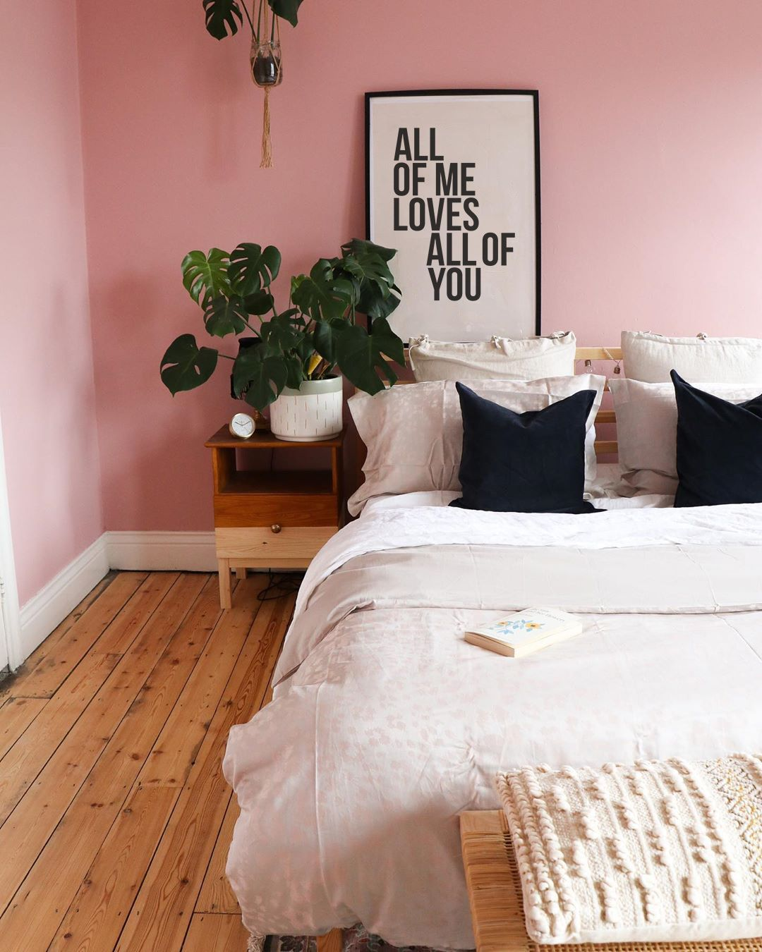 All Of Me Loves All Of You Print All Of You Poster Love Song Etsy Pink Bedroom Walls Spring Bedroom Decor Bedroom Decor Newest pastel pink bedroom