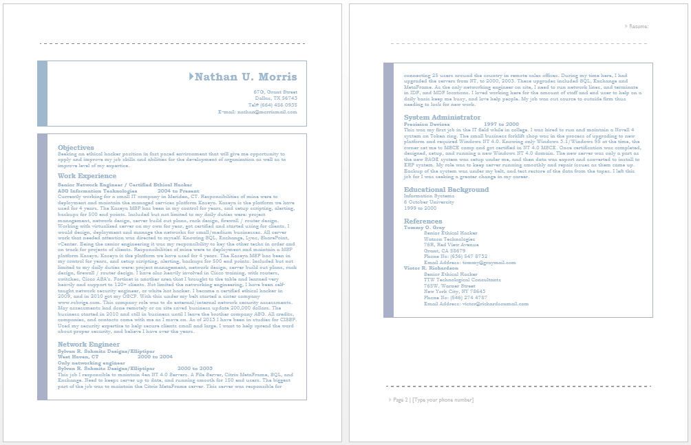 certified ethical hacker resume - Advanced Semiconductor Engineer Sample Resume