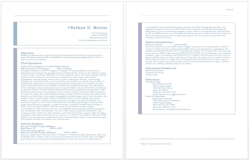 Image Result For Resume Format For Samples