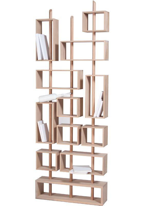 De Design Room Divider of Boekenkast 3MATS van Drugeot Labo wordt ...