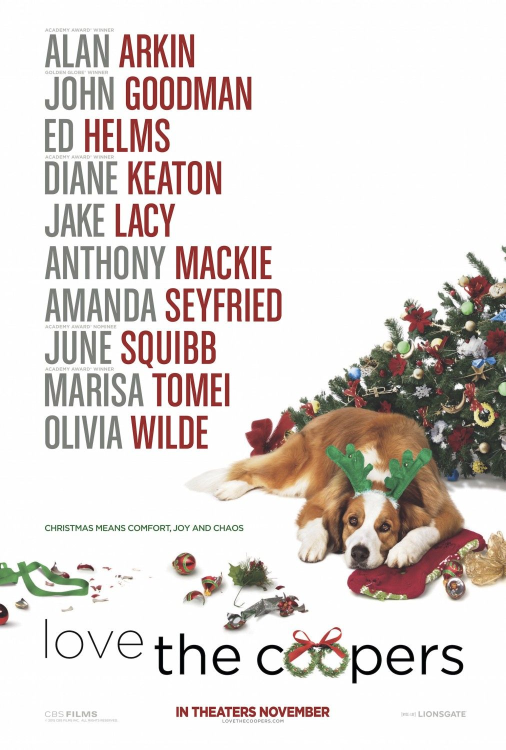 The movie love coopers Is Love