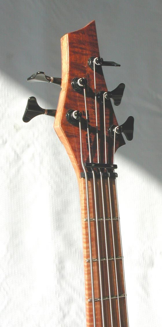 Bass String Headstock : denyle guitars custom 5 string bass headstock like the string retainer bar inspiration ~ Vivirlamusica.com Haus und Dekorationen