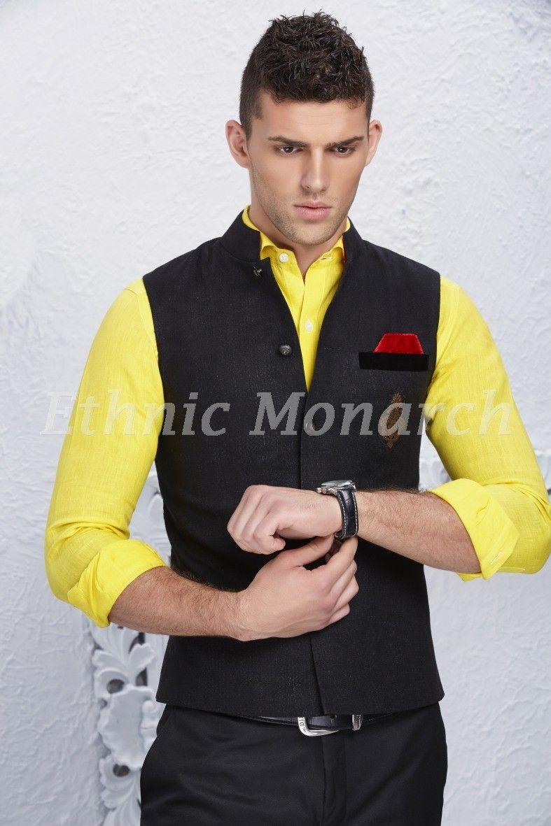 Black jacket with a twist jackets pinterest sherwani and weddings