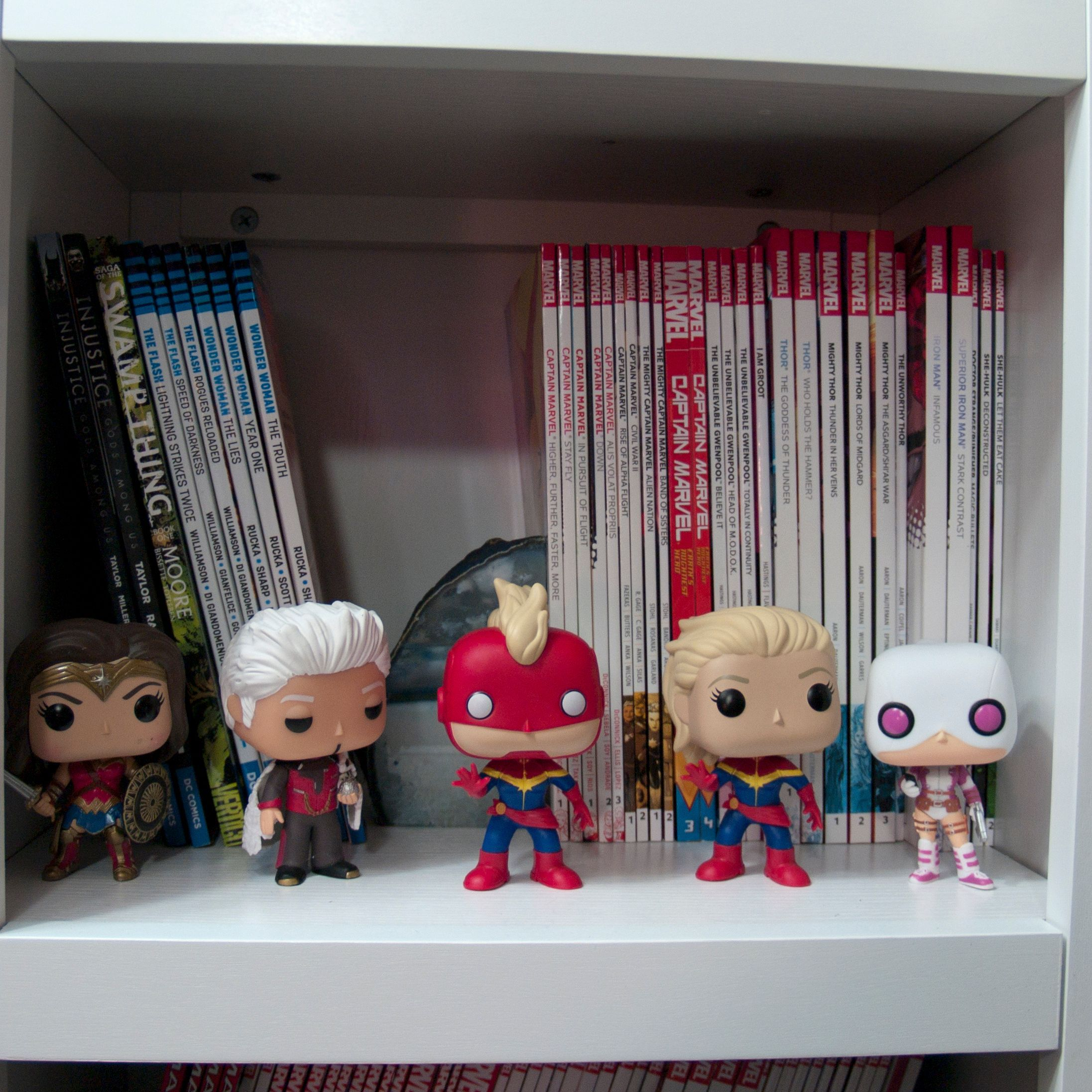 Another Peek At My Comic Book Shelf In Case You Were