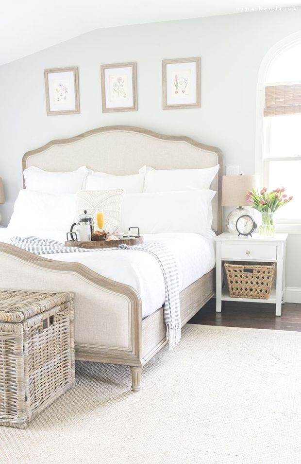 Master Bedroom Retreat  Breakfast in Bed  Gather Mothers Day inspiration from this master bedroom retreat makeover fresh spring flowers and a decadent breakfast in bed