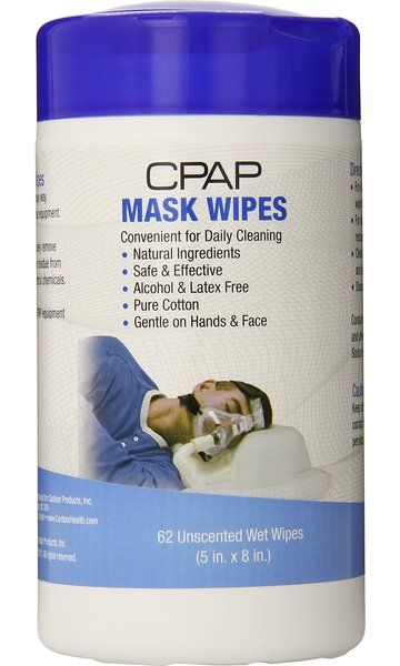Contour Products Cpap Mask Wipes Unscented 62 Wipes With Images Cpap Mask Cpap Wipes