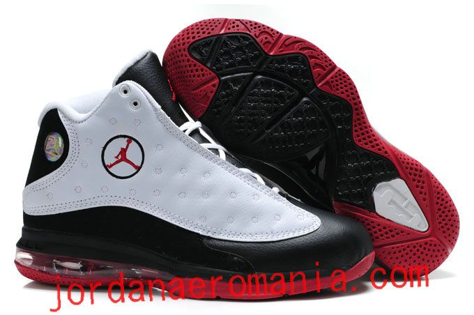 de2d6a939ff0 Jordan 13 + Lebron James 9s Sole Fusion Blanc Noir Red Rouge