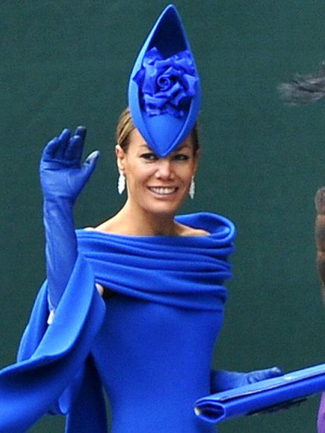 The Best and Worst Hats and Fascinators of the Royal Wedding - Fashionista 32ffc43d5e4