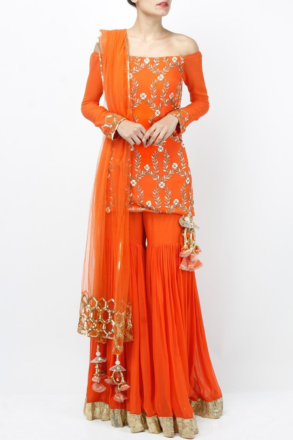 priyanka singh indian designer online sharara set