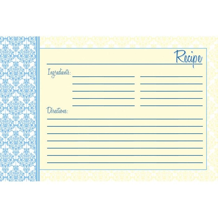 recipe cards tea party set of 12 4x6 heavy duty cards recipe cards. Black Bedroom Furniture Sets. Home Design Ideas