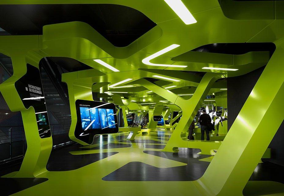 Futuristic Exhibition Center Marrying Digital Media Sustainability