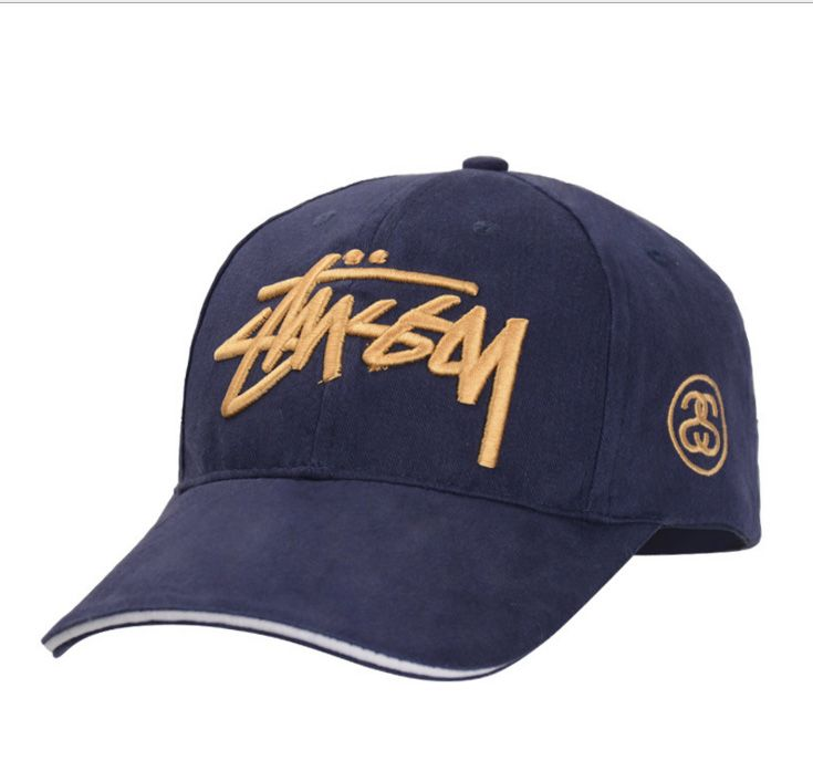 fishing cap Korean tide men's baseball cap embroidered twill cap female letters breathable sun Aries Outdoors