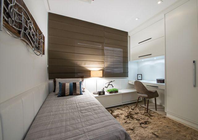 Pin de samy pinto en decora o pinterest dormitorio - Dormitorios para habitaciones pequenas ...