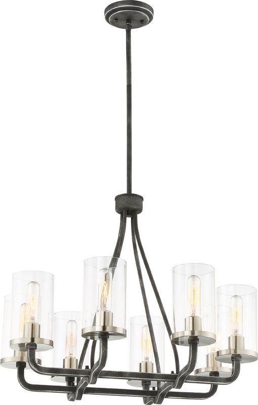 Kylee 8 Light Candle Style Chandelier