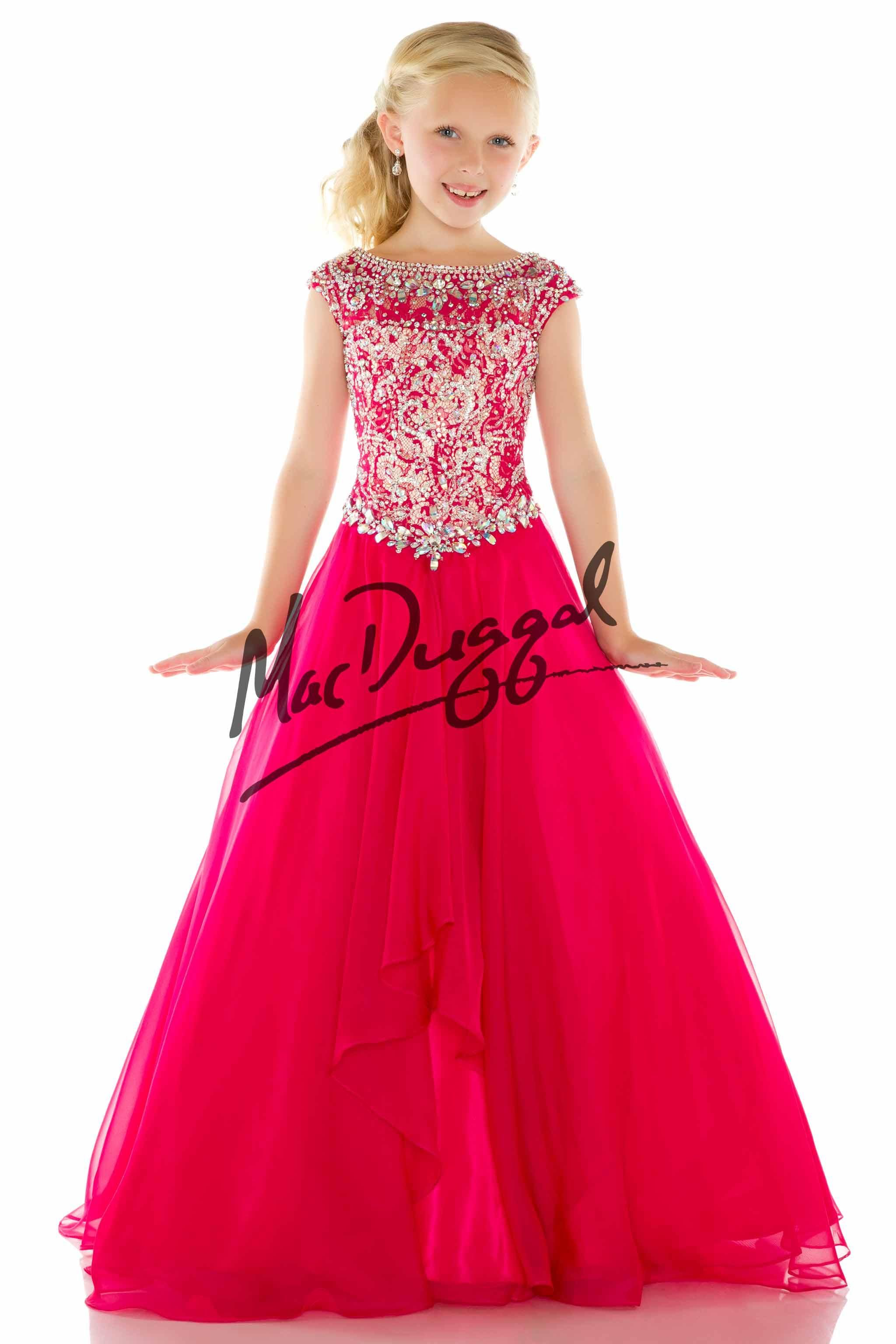 Image result for western dresses for small girls by mac duggal ...